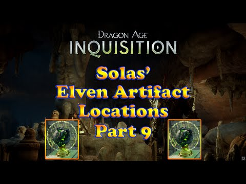 Dragon Age: Inquisition - Solas Elven Artifacts - Measuring the Veil - Crestwood - Part 9