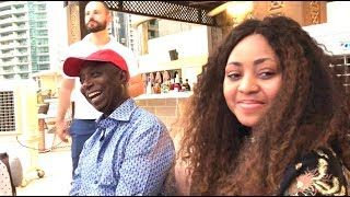 Regina Daniels & Prince Ned Nwoko Dinner Quickly Transforms Into A DaddyFreeze Interview