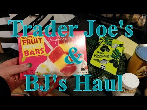 Trader Joe's & BJ's Grocery Haul 02/4/18