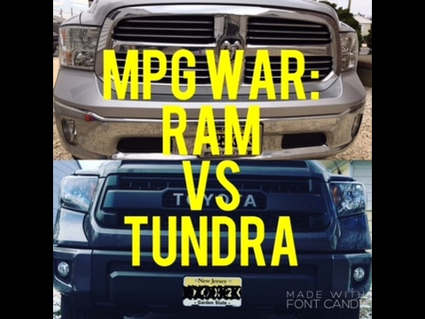 Ram vs Tundra MPG Test! Plus Some Impressions Of Each