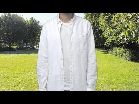 How to clean a white shirt | ASOS Menswear tutorial