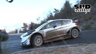 Test Rallye Monte Carlo 2017 Jour 1 - Sebastien Ogier (Ford FIesta WRC) (HD)