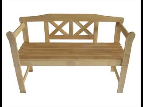 Wooden Bench Seat with Storage Plans