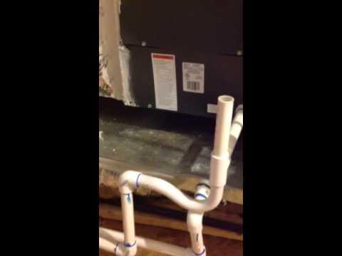 Attic - AC Drip pan