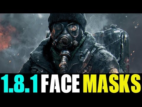 THE DIVISION - PATCH 1.8.1 RELEASE DATE + NEW FACE MASKS! (STATE OF THE GAME HIGHLIGHTS)