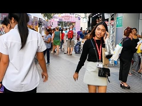 Platinum Street Market - Shopping in Bangkok, Thailand 2018