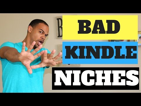 Kindle Publishing Niches To Avoid!