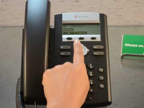 Polycom 330/331 - How To Call Forward