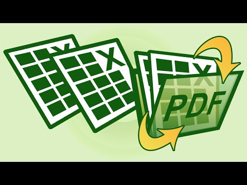 Excel File to PDF Android App