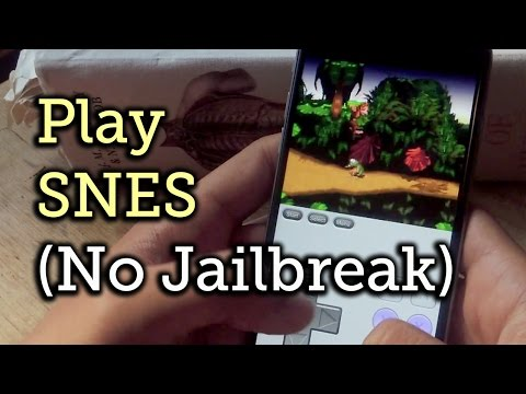 Play SNES Games on Your iPad or iPhone Without Jailbreaking [How-To]