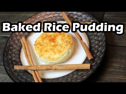 Baked Rice Pudding | Mom's Recipe | Old Fashioned Rice Pudding | Chef Lorious