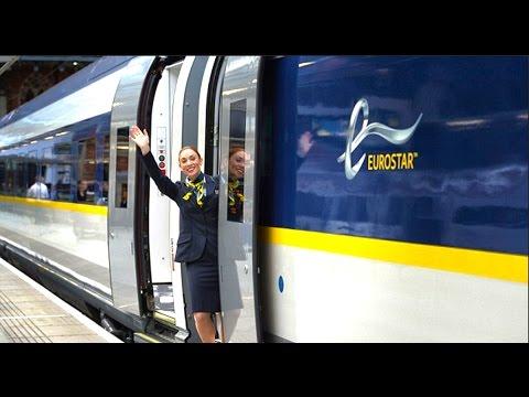 London to Belgium on the Eurostar