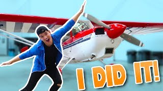 THEY ACTUALLY LET ME FLY IT!