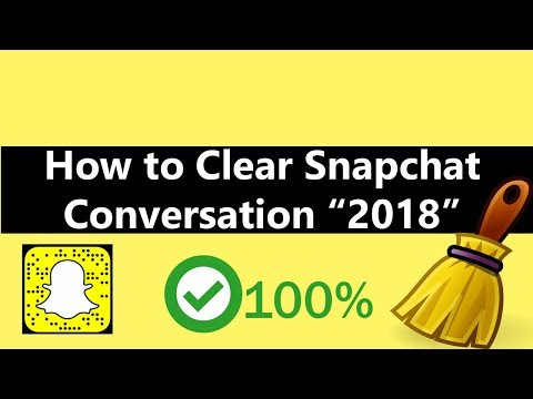 How to Clear Snapchat Conversation 2018