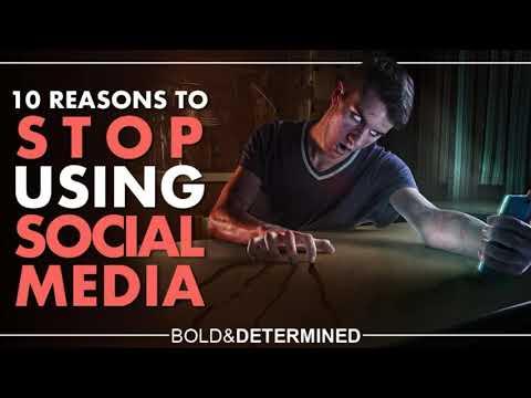 10 REASONS TO STOP USING SOCIAL MEDIA