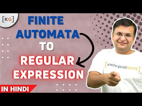 Conversion of Finite Automata to Regular Expression how to convert fa to regular expression part-54