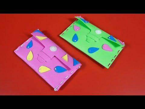 Diy No Sew Clutch Bag | Simple Foam Clutch Bag | Easy Foam Sheet Wallet