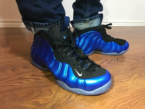 Nike Foamposte 2017 Royal Blue OG XX unbox and on feet review!