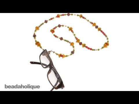 How to Make a Chic Eyeglass Holder Necklace