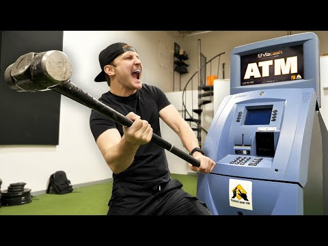 Breaking Into An Abandoned ATM Machine!!