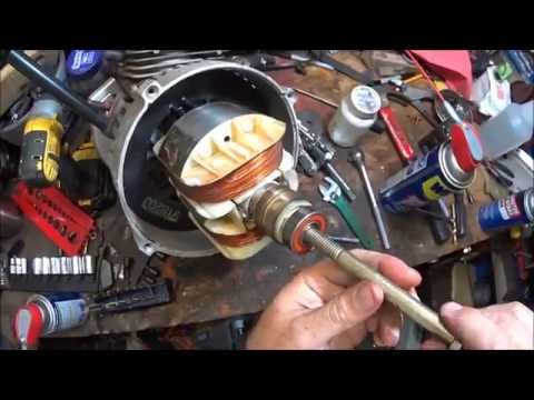 Generator Part 4 How to remove generator arbor from engine