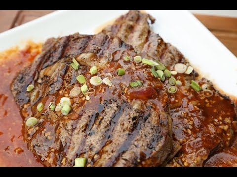 Diva Q's Diablo Rib Eye Steak Recipe