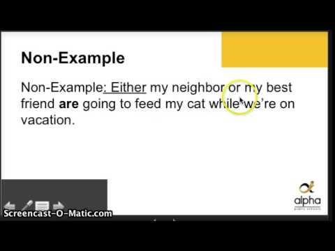 5d Subject Verb Agreement Error