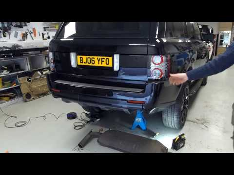 How loud is a Range Rover L322 Supercharged with rear silencer removed !