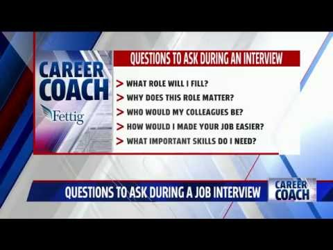 Career Coach on Fox 17 - Questions to ask during a job interview