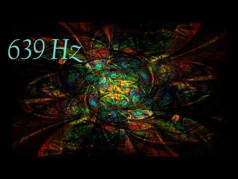 Solfeggio 639 Hz Calming Meditation Music  (40 Min) | Solfeggio Healing Tones