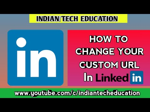 How To Change Your Custom URL In LinkedIn | Find Your LinkedIn URL | [in Hindi]
