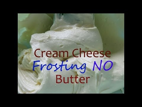 Cream Cheese Frosting  With No Butter