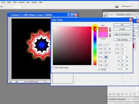 Create Animated Star Photoshop Tutorial Part 2