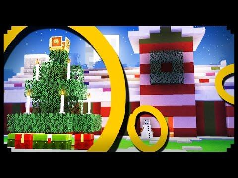 ✔ Minecraft: 10 Christmas Decoration Ideas