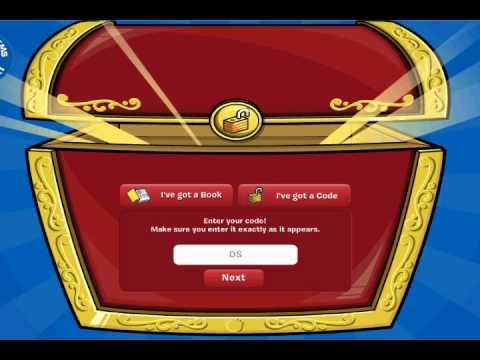 Club Penguin - Free Working Treasure Book Codes May 2013