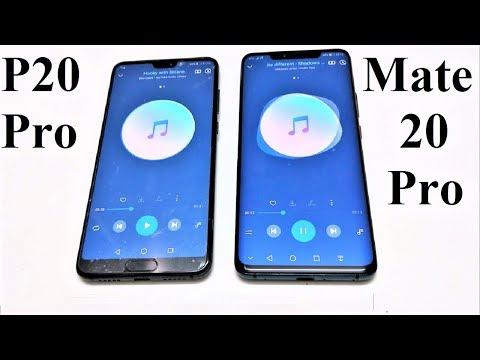 Huawei Mate 20 Pro vs Huawei P20 Pro - SPEAKER TEST