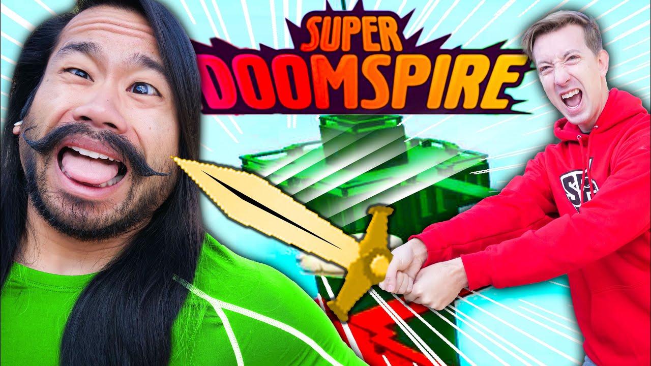 CHAD vs MELVIN in ROBLOX Super Doomspire!