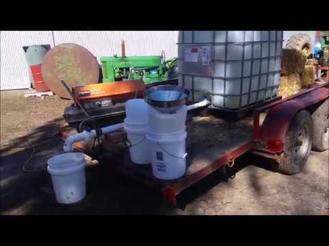 Frozen sap tank quick thaw