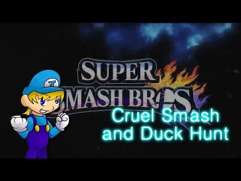 Super Smash Bros Wii U (1080p60fps): Cruel Smash and Duck Hunt Unlock