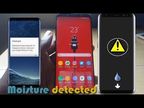 Galaxy S8 Moisture Detected In Charging Port Fix: 6 solutions
