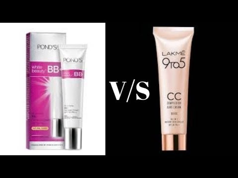 Lakme CC Cream Vs Ponds BB Cream | Review and Difference | Beauty tips