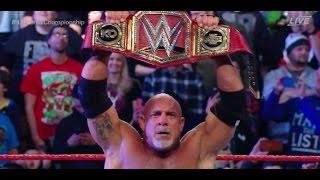 WWE Fastlane 2017 Goldberg WINS WWE Universal Championship #WWEFastlane