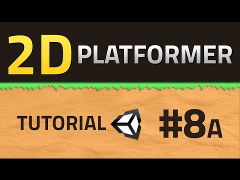 8A. How to make a 2D Platformer - SHOOTING - Unity Tutorial