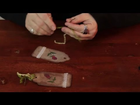 How to Make an Antique Tag for a Scrapbook : Assorted Crafts