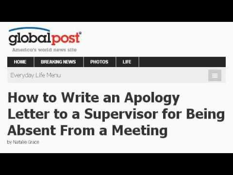 How To Write An Apology Letter To A Client