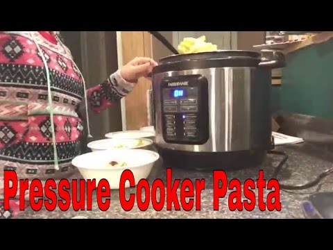 Farberware electric pressure cooker: pasta