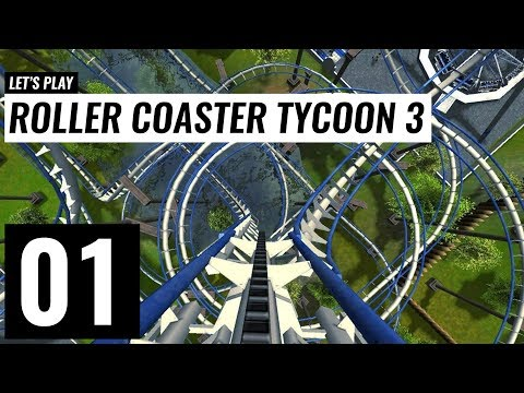 Let's Play: Roller Coaster Tycoon 3 Platinum - Mac - Ep 1