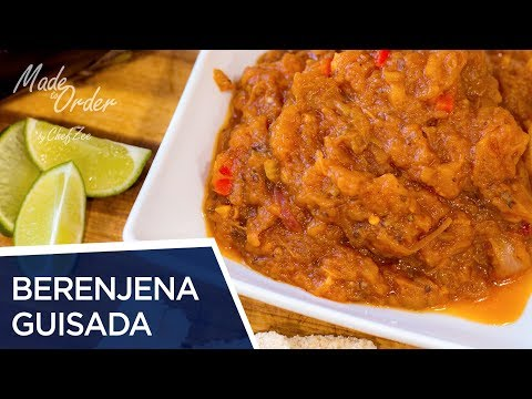 Berenjena Guisada Dominicana | Dominican Stewed Eggplant | Made To Order | Chef Zee Cooks