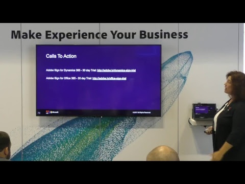 Live from Microsoft Ignite: Adobe Sign & Your Favorite Microsoft Apps