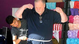 Meghan Markle's Dad Measured for Wedding Tuxedo